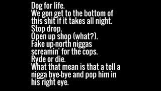 DMX - What's My Name Lyrics mp3