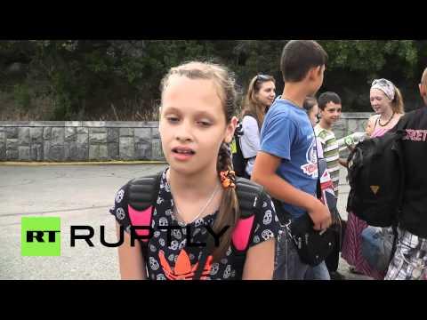 Russia: Slavyansk children