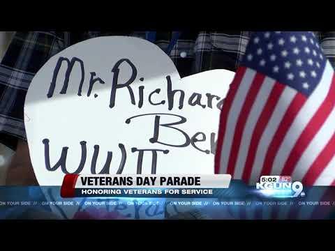 Hundreds attended Tucson's Veterans Day Parade