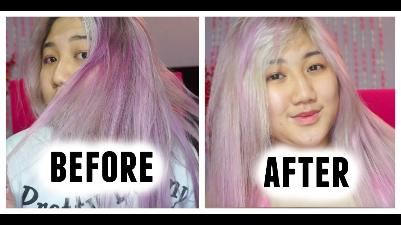 remove semi permanent hair color at home how to remove