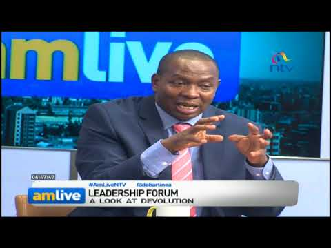 State of implementation of devolved governance in Kenya