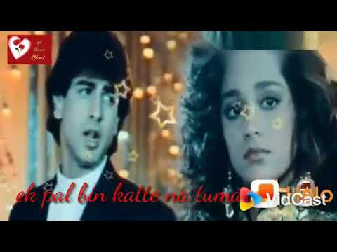 Ek Pal Bhi Kate Na Bin Tumhare#WhatsApp#status#video