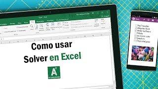 Herramientas de Excel para Expertos: Como usar Solver