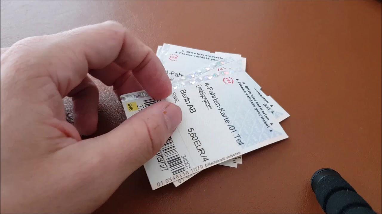 4 Fahrten Karte Bvg.Wie Man Bei Der Bvg Einige Cents Sparen Kann Seppel Spart De
