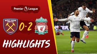 West Ham 0-2 Liverpool: Salah and Oxlade-Chamberlain strikes seal it | Highlights
