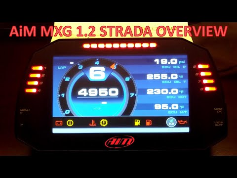 AiM MXG 1.2 Strada Overview