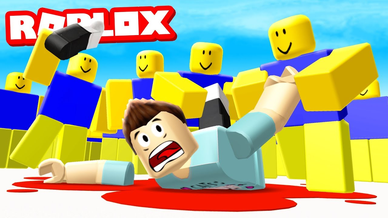 Denis Vs 1 000 000 Roblox Noobs Youtube