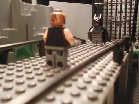 The Dark Knight Rises in LEGO: Batman vs. Bane - YouTube