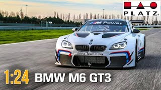BMW M6 GT3 :: 1/24 :: Platz :: Распаковка и обзор