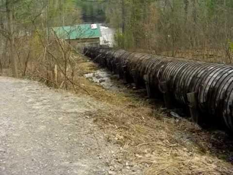 Hydro Dam Intake Pipe.AVI