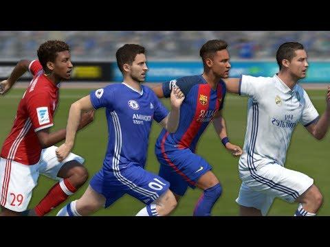 FIFA 17 Speed Test  Fastest Left Wingers LWLMLF in FIFA