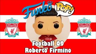 Liverpool football team Roberto Firmino Funko Pop unboxing (Football 09)