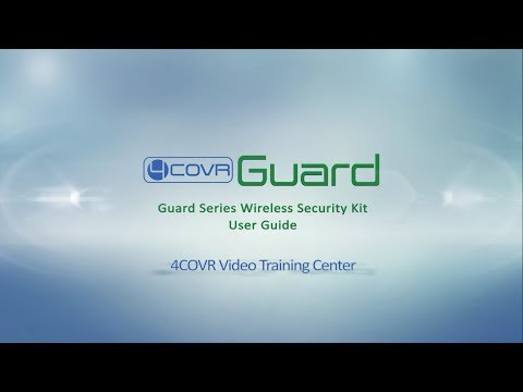 4COVR Wireless Security Kit User Guide Video | 4COVR Guard