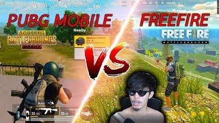 PUBG VS FREEFIRE เกมไหนดีสุด !