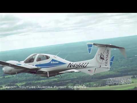 Aero-TV: An Optionally Piloted DA42 - Aurora Flight Sciences 'Centaur'