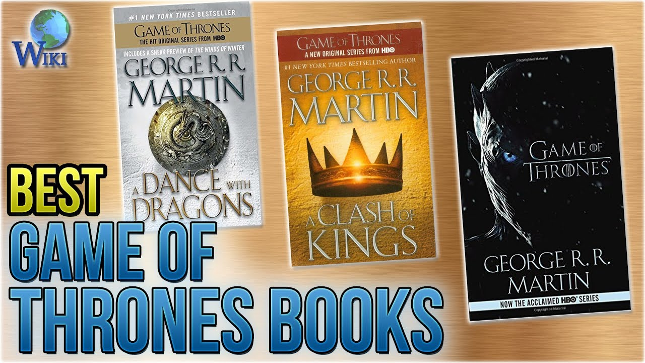 Top 10 Game of Thrones Books of 2019 | Video Review