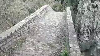 Водопад. Топ лучших в Греции. Палеокариа. Трикала. 2019