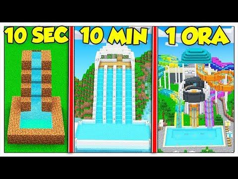 QUANTO CI METTI PER COSTRUIRE UN ACQUAPARK? - Minecraft ITA