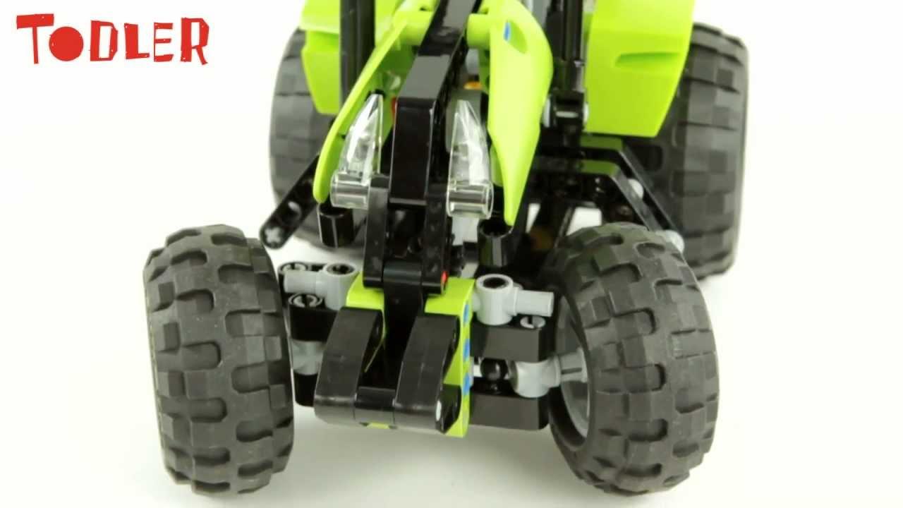 Lego Technic Traktor 9393 Youtube