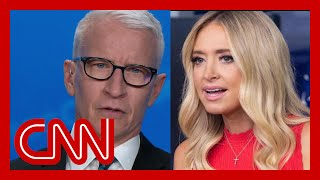 Cooper calls out McEnany's defense of Trump's baseless tweet