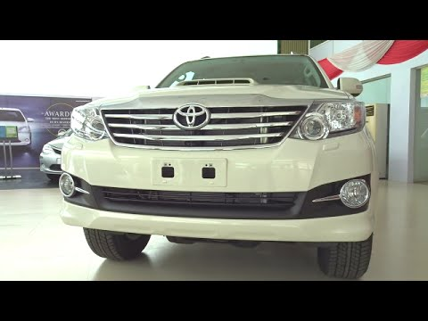 #Cars@Dinos: Toyota Fortuner 2015 Walkaround Review Full HD