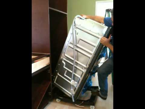 hqdefault how to install a double oven in just one minute youtube wiring a wall oven at nearapp.co