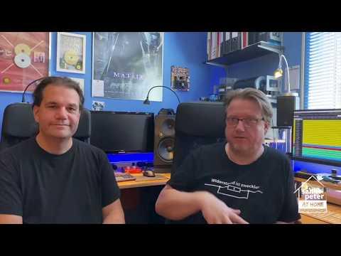 Technik für Glasperlenspiel im Autokino! Und wir dürfen bei den Vorbereitungen dabei sein! Daniel hat seinen Freund und Kollegen Uli Helm besucht, der ...