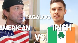 Tagalog Speaking Irish vs. Beki Speaking American (Foreigners in Philippines)