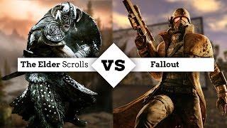 ¡The Elder Scrolls vs Fallout! ¿Qué saga es mejor?