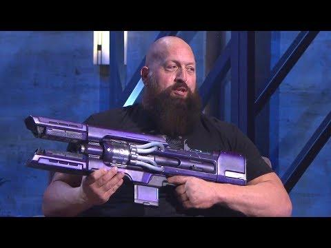 Destiny 2 Panel   WWE Star Big Show Talks Destiny 2 with Bungie CEO Pete Parsons!