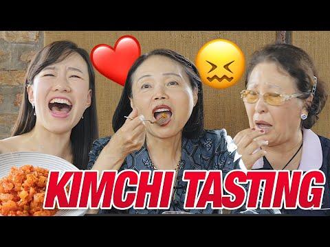 Korean Ladies Taste-Test American Kimchi