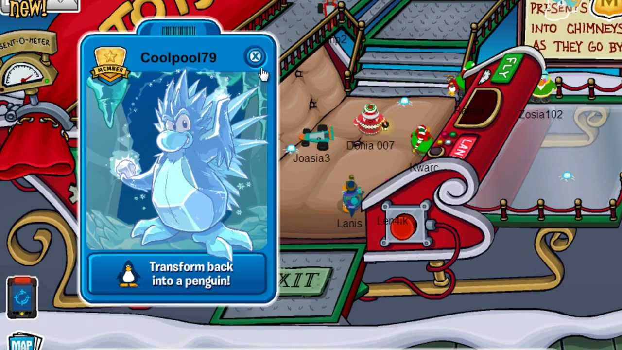 Club Penguin Christmas Party 2012