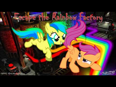 Escape the Rainbow Factory