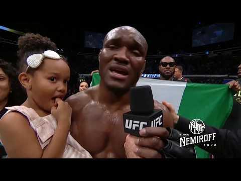UFC 235: Камару Усман vs Тайрон Вудли - Слова после боя