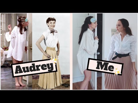 Audrey Hepburn Outfit Ideas Breakfast At Tiffanys Roman Holiday