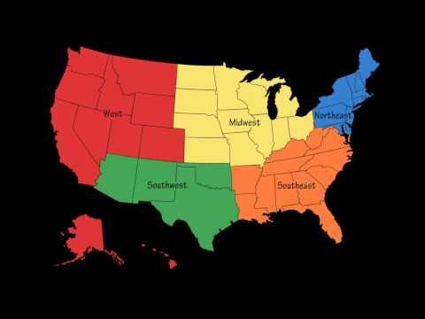 5 Regions of the U S FINAL