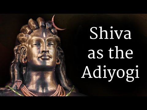 Shiva as the Adiyogi