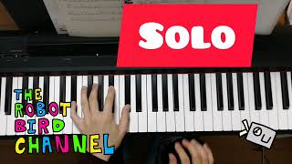 Jazz #piano practice #vlog. I tried to put #BassNotes on the #DaysOfWineAndRoses. #弾いてみた.