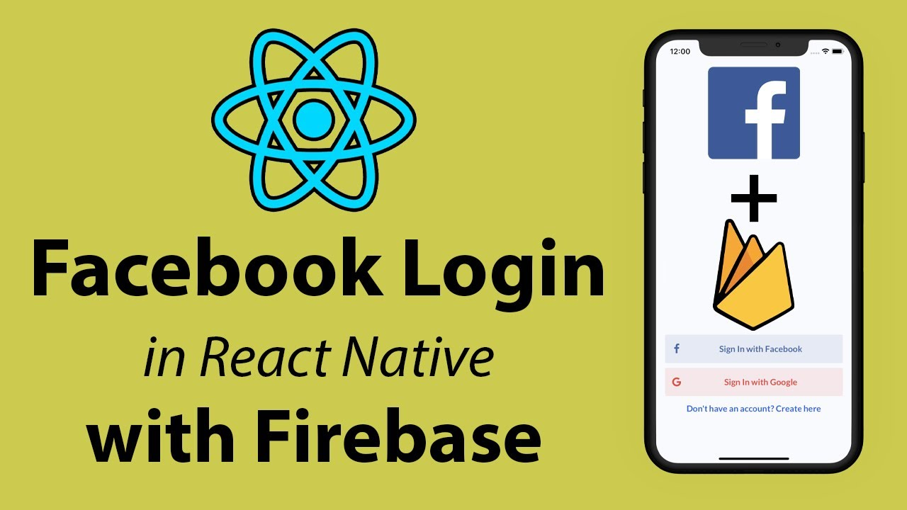 Facebook Login in React Native with Firebase Tutorial