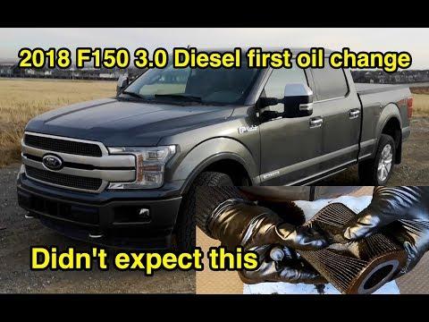 🛢️ 2018 Ford F150 V6 DIESEL Engine Oil Change and Filter Inspection | POWERSTROKE 3.0L |