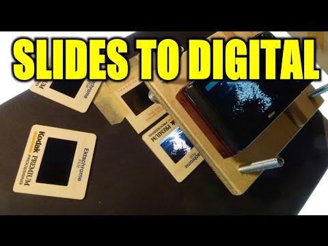Transferring Slides to Digital Photos