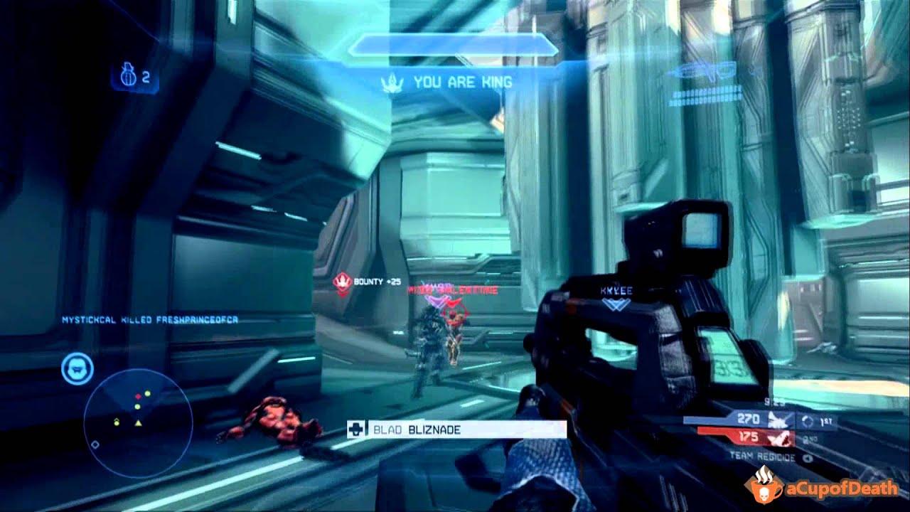 Regicide on Haven - Halo 4 Gameplay