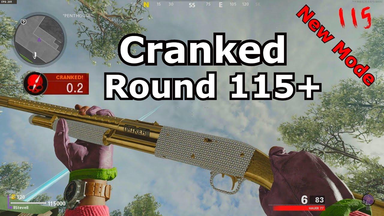 Download New Mode Cranked Round 115+ zombies die machine