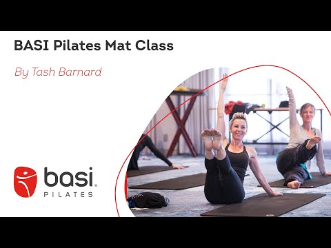 Pilates Mat class with Tash Barnard