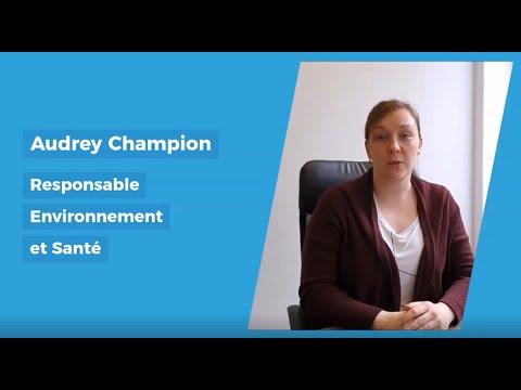Femme dans l'industrie : Audrey Champion, responsable Environnement et Santé