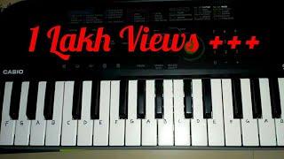 Nagin Been Dhun Cover Theme on Piano(Casio sa 47) by Madan Mali