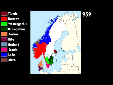 The Unification of Norway, Denmark and Sweden