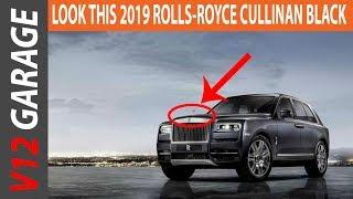 HOT NEWS !! 2019 ROLLS ROYCE CULLINAN SUV BLACK COLORS INTERIOR EXTERIOR GALLERY