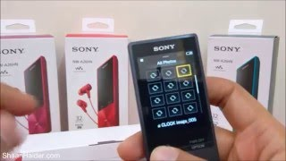 Sony Walkman NW-A26HN - Unboxing and First Impressions