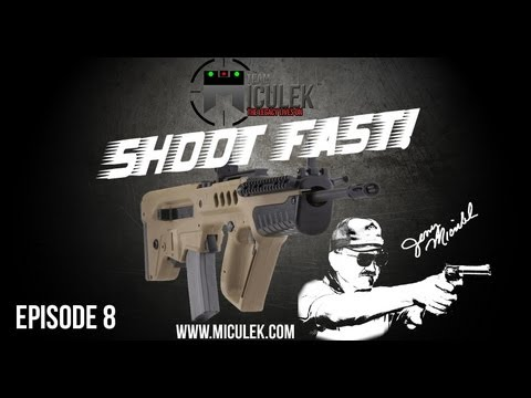 IWI TAVOR (TAR-21) review with Jerry Miculek